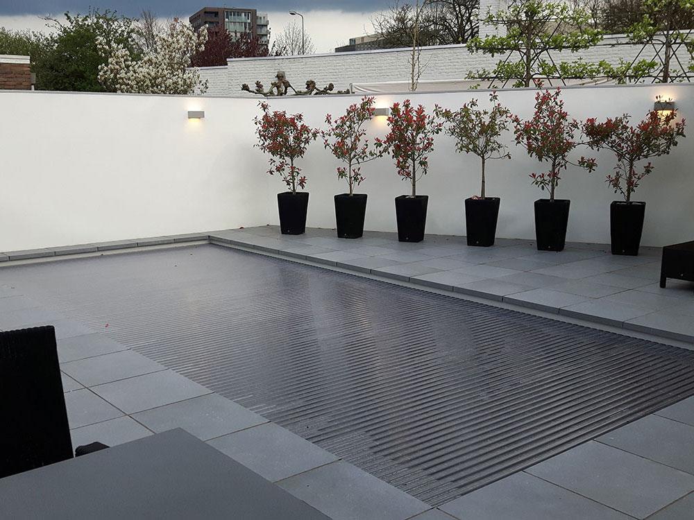 Moderne tuin Tilburg